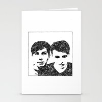 danisnotonfire Stationery Cards featuring Danisnotonfire & AmazingPhil by xzwillingex