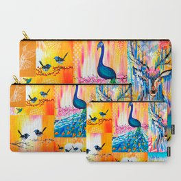Yellow designs Carry-All Pouch