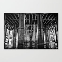 River Cathedral Canvas Print