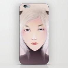 women_deer iPhone Skin