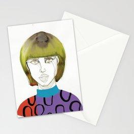Tora Tough, a tough lady Stationery Cards