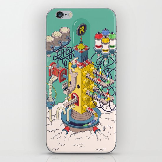 Rasti / Industria Argentina iPhone & iPod Skin