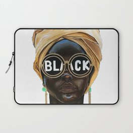 Black Woman Laptop Sleeve
