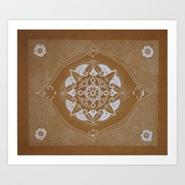 Mother Mandala Art Print
