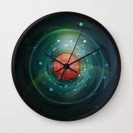 Push the future Wall Clock