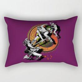 Ukko and the Slayer Rectangular Pillow