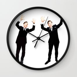 Benedict Cumberbatch Oscar Photobomb Wall Clock