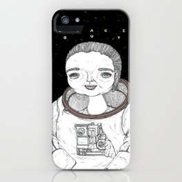 Spaced Out iPhone Case