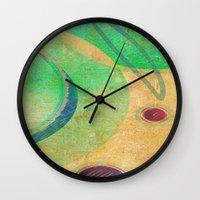 breakfast Wall Clocks featuring Breakfast by Fernando Vieira