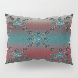 Teal Blue Redwood Pillow Sham