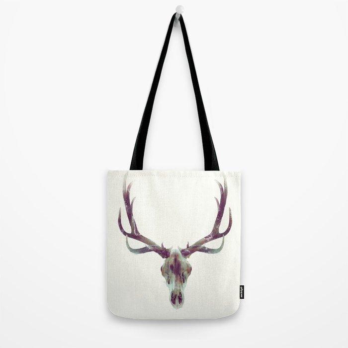 Elk Skull Tote Bag