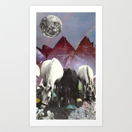 Foraging Art Print