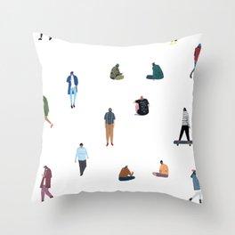 Boys Throw Pillow