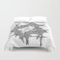 fractal Duvet Covers featuring Fractal by Abstract Al