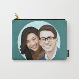 Jenna Ushkowitz and Kevin Mchale Carry-All Pouch