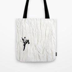 Climbing a Wrinkle Tote Bag