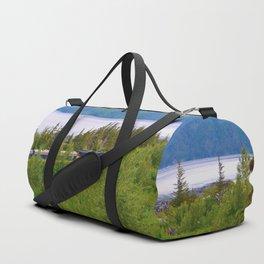Alaska Passenger Train - Bird Point Duffle Bag