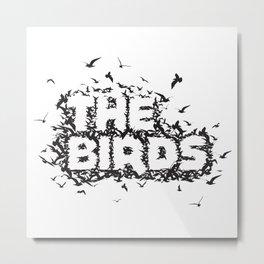 The Birds movie Metal Print