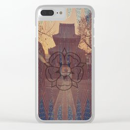 Once Upon A Time in Tokyo XV Clear iPhone Case