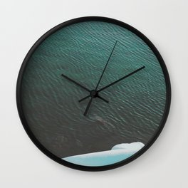Simply cold Wall Clock