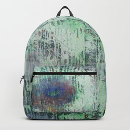 Cells - abstract, bright, RGB, acrylic piece Backpack