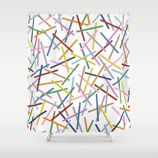Kerplunk Repeat Shower Curtain