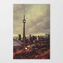 Toronto Baby Canvas Print