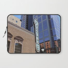 Vintage Portland Sign in the City Laptop Sleeve