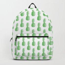 Pineapples - Green #724 Backpack