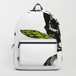 skull asparagus Backpack