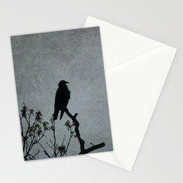 Majestic Crow Stationery Cards