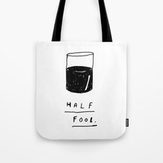 HALF FOOL Tote Bag