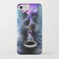 skeleton iPhone & iPod Cases featuring SKELETON by sametsevincer