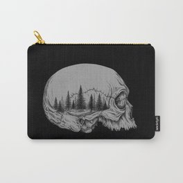 SKULL/FOREST II Carry-All Pouch