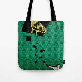 paper's bird Tote Bag