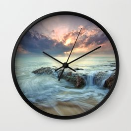 Swept Wall Clock