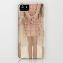 pretty little maidens iPhone Case