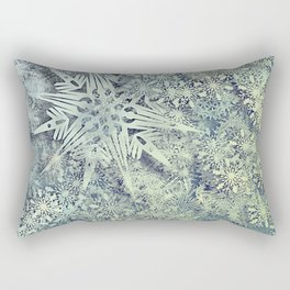 sea of flakes Rectangular Pillow