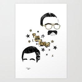 Liam & Jerry Throwback Art Print