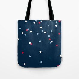 Dots - Navy Tote Bag