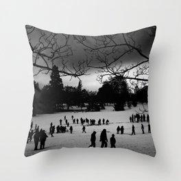 Winter Park Throw Pillow