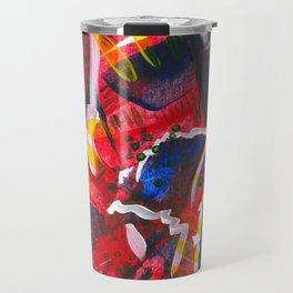 Acrylic Painting - Abstract 3 Travel Mug