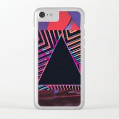 90s Print Clear iPhone Case
