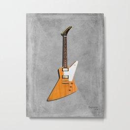 The Explorer Guitar 1958 Metal Print