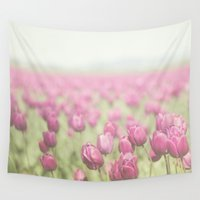 tulip Wall Tapestries featuring Tulip by Pure Nature Photos