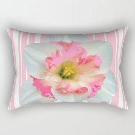 PINK ECTACY FLORAL PATTERNS Rectangular Pillow