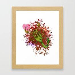 Scorpio in Love Framed Art Print