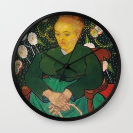 Vincent Van Gogh - La Berceuse, Portrait of Madame Roulin Wall Clock