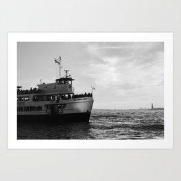 Miss New York Art Print