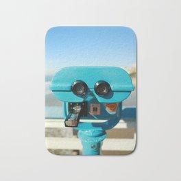 Beach Viewer Binoculars Bath Mat